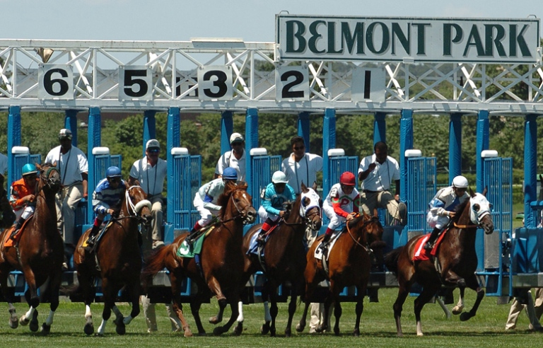 Belmont-Racetrack-Gate