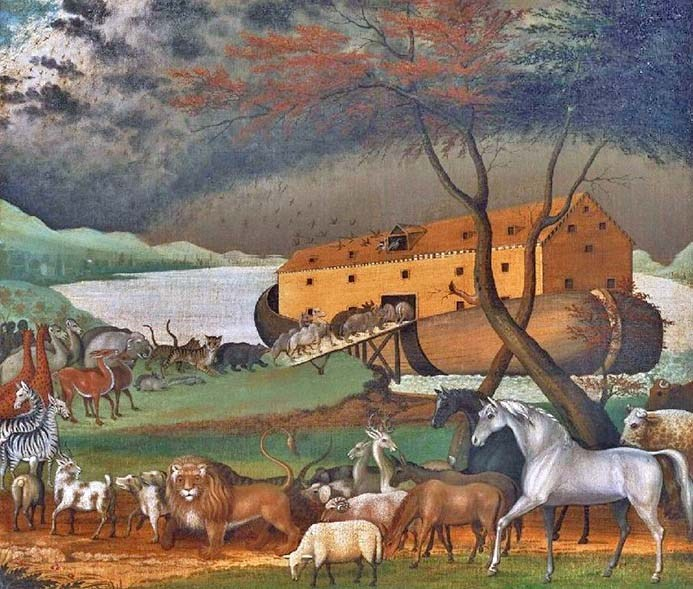 Noahs_Ark.jNoahs-Arkoil-on-canvas-painting-by-Edward-Hicks1846-Philadelphia-Museum-of-Art.dominio-pubblico